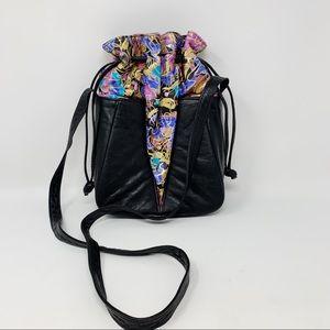 VTG Avant Garde Crossbody Bucket Bag